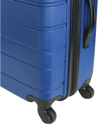 Princess Traveller Harde trolleyset Singapore Spinner blauw-Onderkant