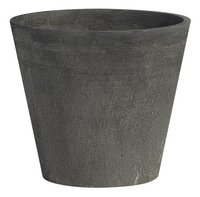 Ecopot's Pot rond Amsterdam anthracite