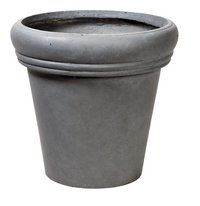 MCollections Pot rond gris H 51 cm-Avant