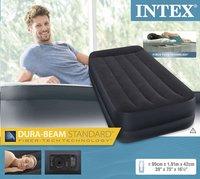 Intex Matelas gonflable pour 1 personne Rising Comfort Pillow rest Twin-Avant