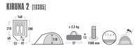 High Peak tente igloo Kiruna 2-Détail de l'article