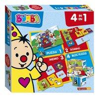Boîte de jeu 4 en 1 Bumba