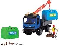 Dickie Toys vrachtwagen Recycling Container set-Vooraanzicht