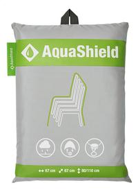 AquaShield beschermhoes voor stapelstoelen polyester D 67 x B 67 x H 110 cm-Vooraanzicht