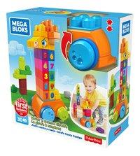 Mega Bloks First Builders La girafe à numéros-Côté droit