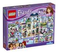 LEGO Friends 41318 Heartlake ziekenhuis-Achteraanzicht