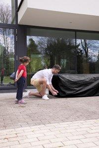 Outdoor Covers beschermhoes voor loungeset Premium polypropyleen L 215 x B 215 x H 70 cm-Afbeelding 1