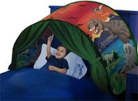 Ciel de lit pop-up DreamTents L'île aux dinosaures-commercieel beeld