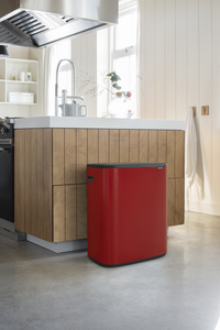 Brabantia Poubelle Touch Bin Bo passion red 2 x 30 l-Image 1