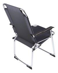 Bo-Camp Chaise de camping Copa Rio Classic noir-Arrière