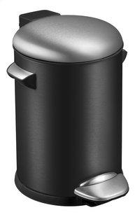 Eko poubelle à pédale Belle noir mat 3 l