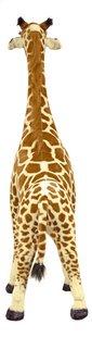 Peluche géante girafe 137 cm-Arrière