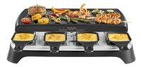 Tefal Gril-appareil à raclette Inox Design RE4598 - 8 personnes-Image 1