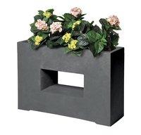MCollections Jardinière gris foncé