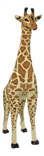 Peluche géante girafe 137 cm-Avant