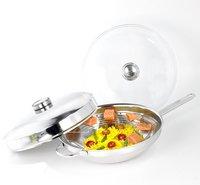Demeyere wok en inox 32 cm-Avant
