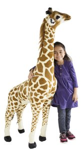 Peluche géante girafe 137 cm-Image 2