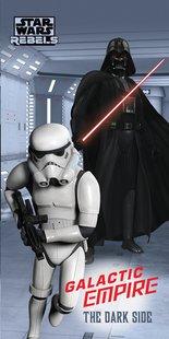 Drap de plage Star Wars The Dark Side Lg 75 x L 150 cm