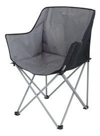 EuroTrail chaise de camping Kampala anthracite/noir-Côté droit