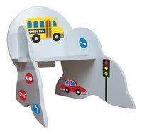 Chaise pour enfants véhicules avec stickers