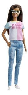 Barbie poupée mannequin Careers Surprise - Make History-Côté gauche