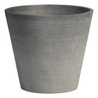 Ecopot's Ronde bloempot Amsterdam grey diameter 30 cm