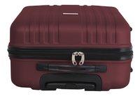 Transworld Set de valises rigides Freedom Spinner dark red-Détail de l'article