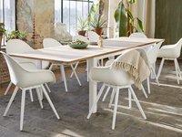 Chaise de jardin Geneva blanc-Détail de l'article