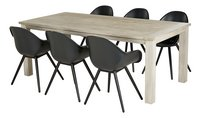 Table de jardin Belmont Grey Wash 210 x 100 cm-Image 1