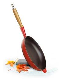 Le Creuset poêle rouge cerise 28 cm-Image 1