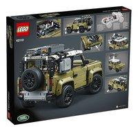 LEGO Technic 42110 Land Rover Defender-Arrière