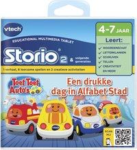 VTech Storio spel Toet Toet Auto's letters en klanken-Vooraanzicht