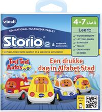 VTech Storio spel Toet Toet Auto's letters en klanken