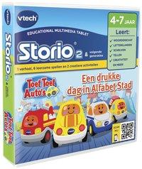 VTech Storio spel Toet Toet Auto's letters en klanken-Rechterzijde