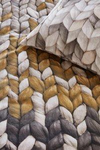 Ariadne at Home Housse de couette Warmly ochre coton 140 x 220 cm-Détail de l'article