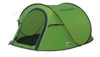 High Peak Pop-uptent Vision 3 groen/donkergrijs-Rechterzijde