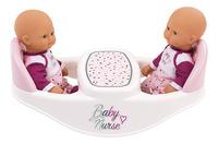 Smoby chaise haute jumeaux 2 en 1 Baby Nurse blanc-Détail de l'article