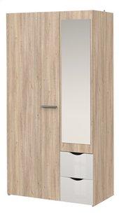 2-delige slaapkamer Young met halfhoogslaper + 2-deurskast-Artikeldetail