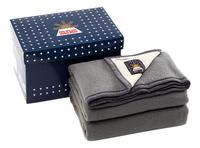 Sole Mio Wollen deken 730 grijs/lichtgrijs-commercieel beeld