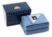 Sole Mio Wollen deken 730 blauw/hemelsblauw 240 x 300 cm-commercieel beeld