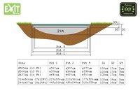 EXIT trampoline enterré Supreme Ground 427 x 244 cm-Détail de l'article