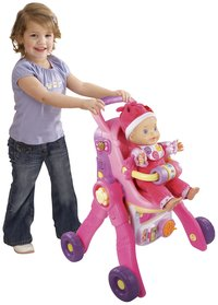 VTech 3-in-1 poppenwagen Little Love-Afbeelding 2