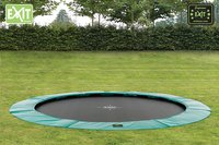EXIT inbouwtrampoline Supreme Ground diameter 3,66 m-Afbeelding 1