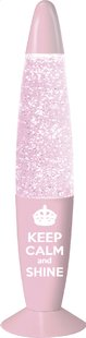 Lavalamp Kreative Glitter Girly