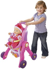 VTech 3-in-1 poppenwagen Little Love-Afbeelding 3