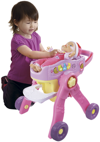 VTech 3-in-1 poppenwagen Little Love-Afbeelding 4