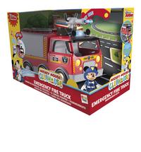 Set de jeu La Maison de Mickey Le camion de pompiers-Avant