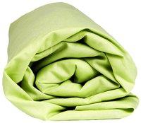 Sleepnight hoeslaken lime katoenjersey 140 x 200 cm-Vooraanzicht
