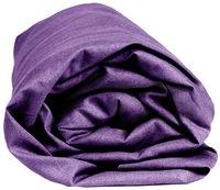 Sleepnight drap-housse mauve en jersey de coton 140 x 200 cm-Détail de l'article