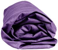 Sleepnight hoeslaken paars katoenjersey 90/100 x 200 cm-Artikeldetail